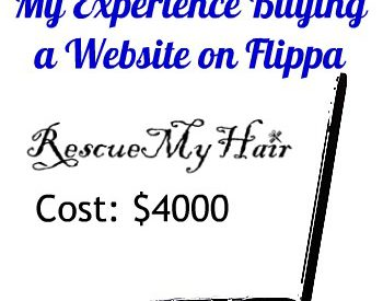should i buy a website on flippa