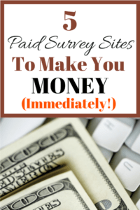 Highest Paying Online Surveys. These 5 free survey sites will help you to make extra money online very quickly.Thanks so much for posting these survey sites. I LOVE that these are legit survey sites that actually pay you.