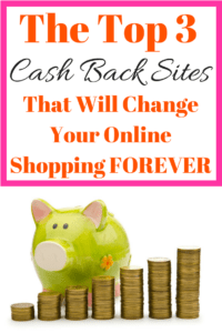 Nothing tops cash back sites! These top cashback websites will change the way you shop online FOREVER! Check them out and be prepared to never go back to the way you use to shop online!