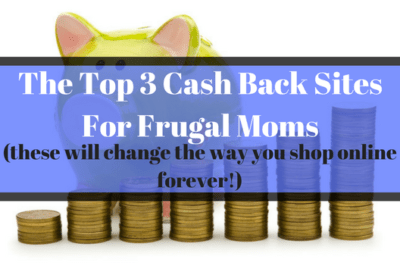 The Top 3 Cash Back Sites
