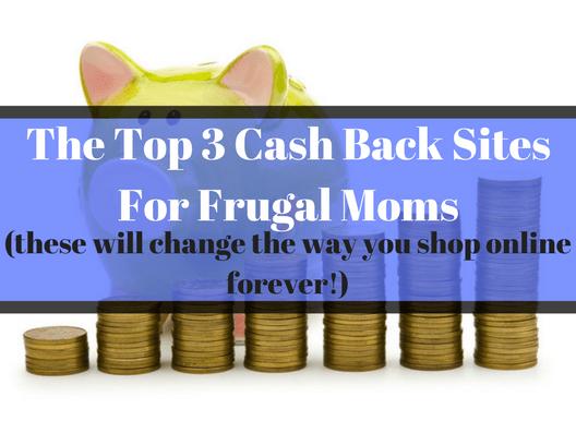 The Top 3 Cash Back Sites