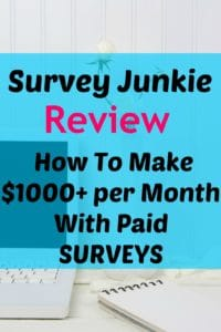 Wow thanks for posting this awesome Survey Junkie Review ! I LOVE this paid survey site and have used it to make hundreds of dollars of extra cash! This is one of the BEST ways to make money online!