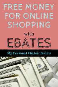 How To Make Money With Ebates - my personal review of the best cash back site on the internet!