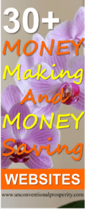 Here are my top 30+ money making and money saving websites. The top companies I list will help you to earn money, save money and change your life for the better! You HAVE to check this list out if you are serious about improving your financial life!