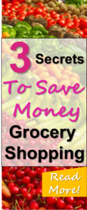 Wow these three simple tricks can save money on groceries without having to clip coupons etc. I love these secrets to frugal living and I am SURE you will love these ways to save money on groceries as well!