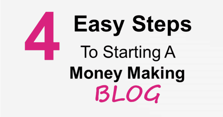 Learn how to start a wordpress blog in 4 easy steps!