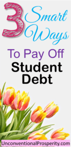 3 Very Smart Tips For Paying Off your Student Loans fast! This article is a must read article if you are serious about paying off your student loan debt this year!