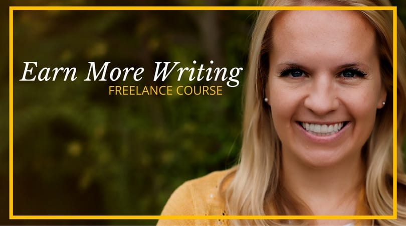 Holly Johnsons Earn More Writing Freelance Course