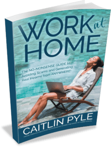 Caitlin Pyle Work at Home Book proofreading jobs for beginners